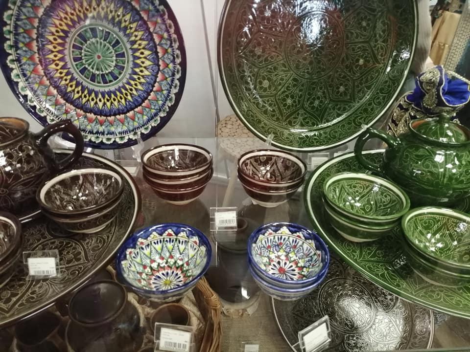 сибирские татары, риштанская роспись, чайный набор татар, пиала, выставка, бухарцы, в тюмени, музей, выставка в тюмени, музеи в тюмени, легенды сибири, что посмотреть
