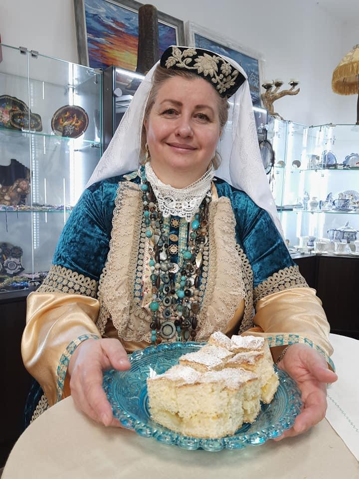 Альмира Сажина, Легенды Сибири, выставка, Культура и быт сибирских татар, бухарская кухня, мастер-класс, татарские национальные блюда, купить гастрономический сувенир